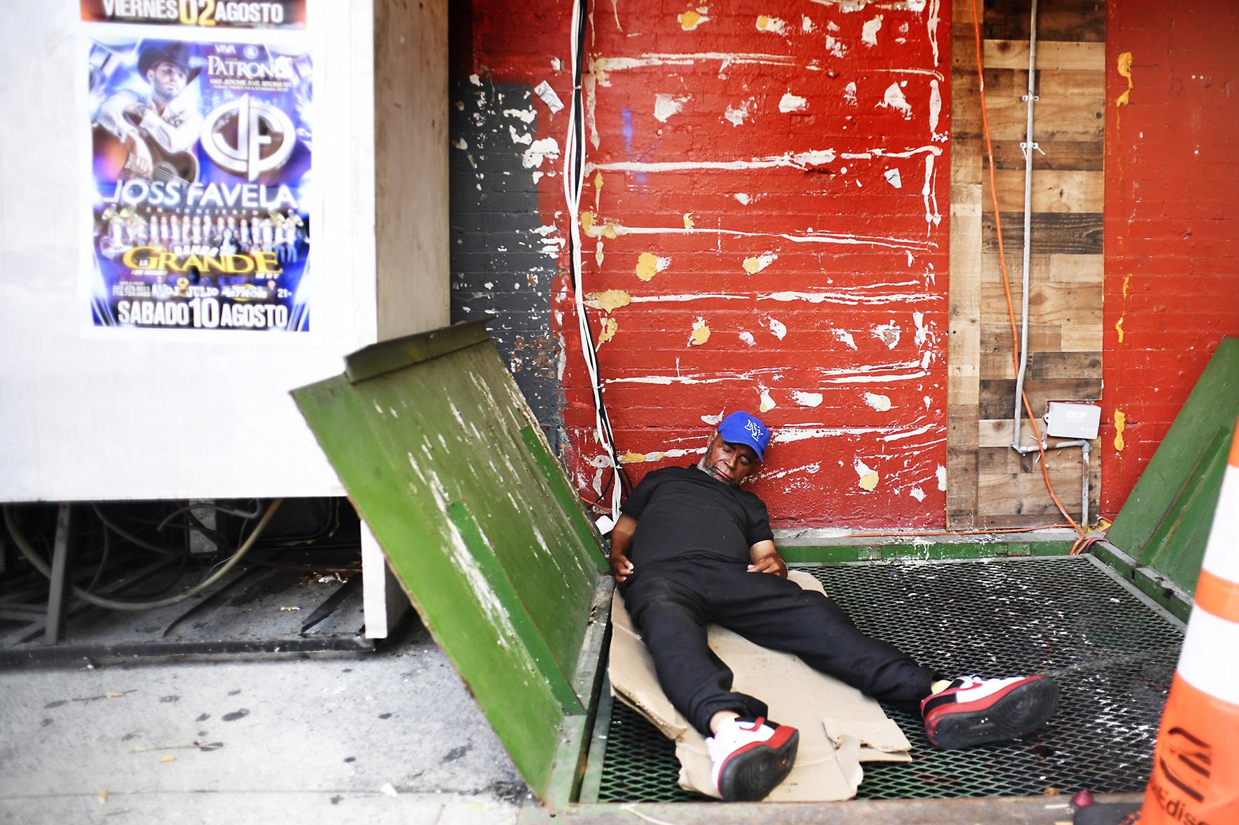 Citysleepers, Harlem NY>2019