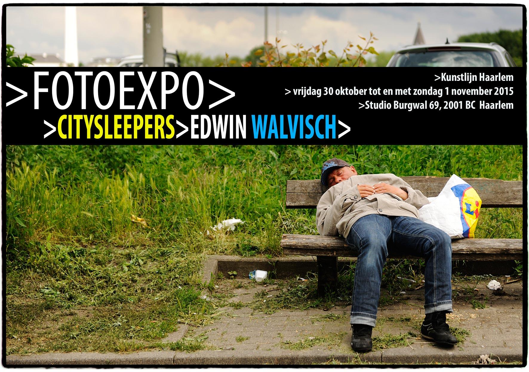FotoExpo Citysleepers, Kunstlijn Haarlem>2015