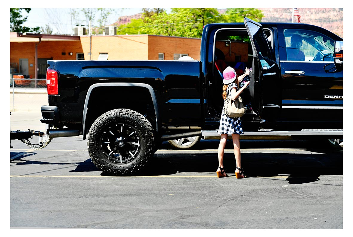 The girl and the monstertruck, Kanab