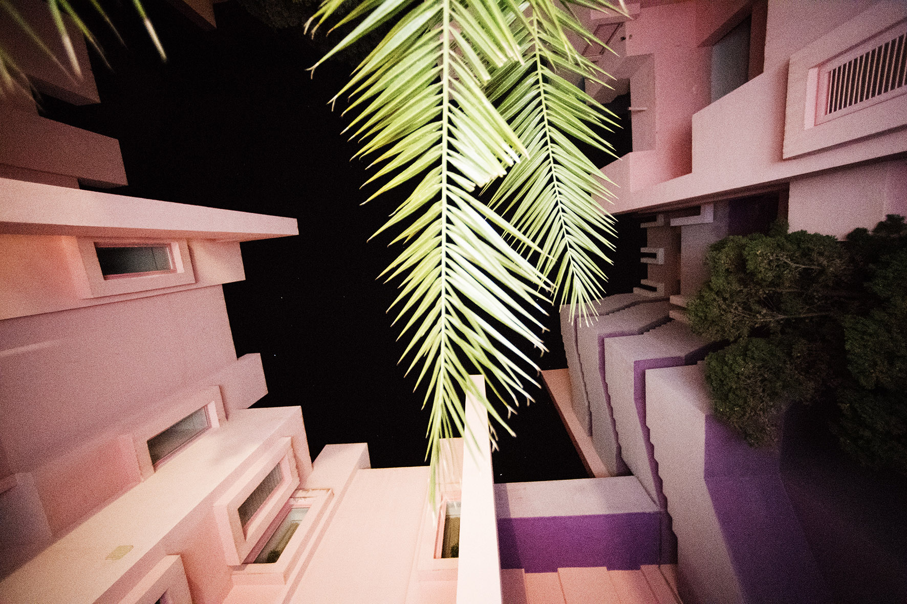 Calpe, La Muralla Roja, Spain>March 2018