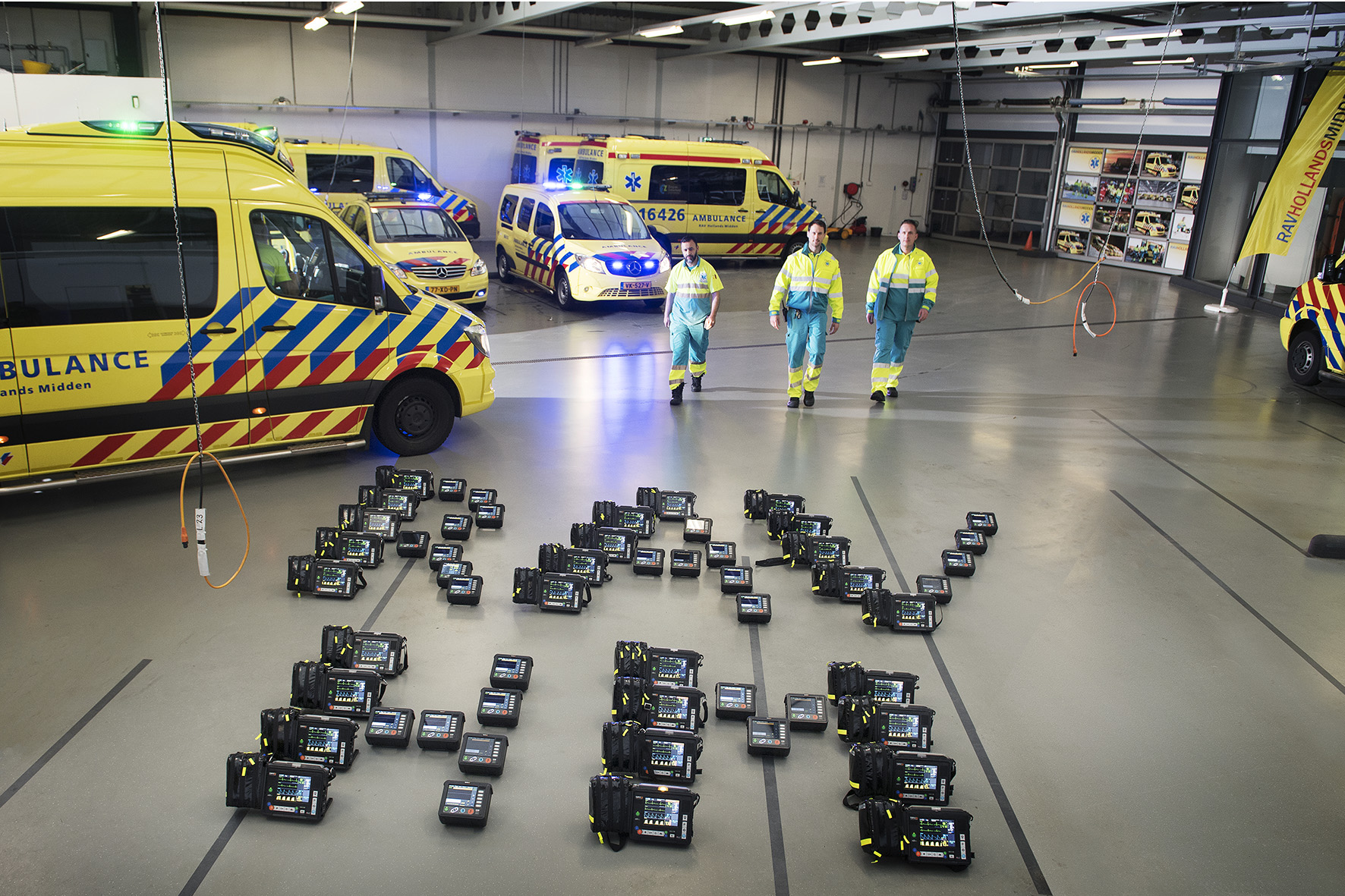 Ambulancedienst RAV HM, website>2018