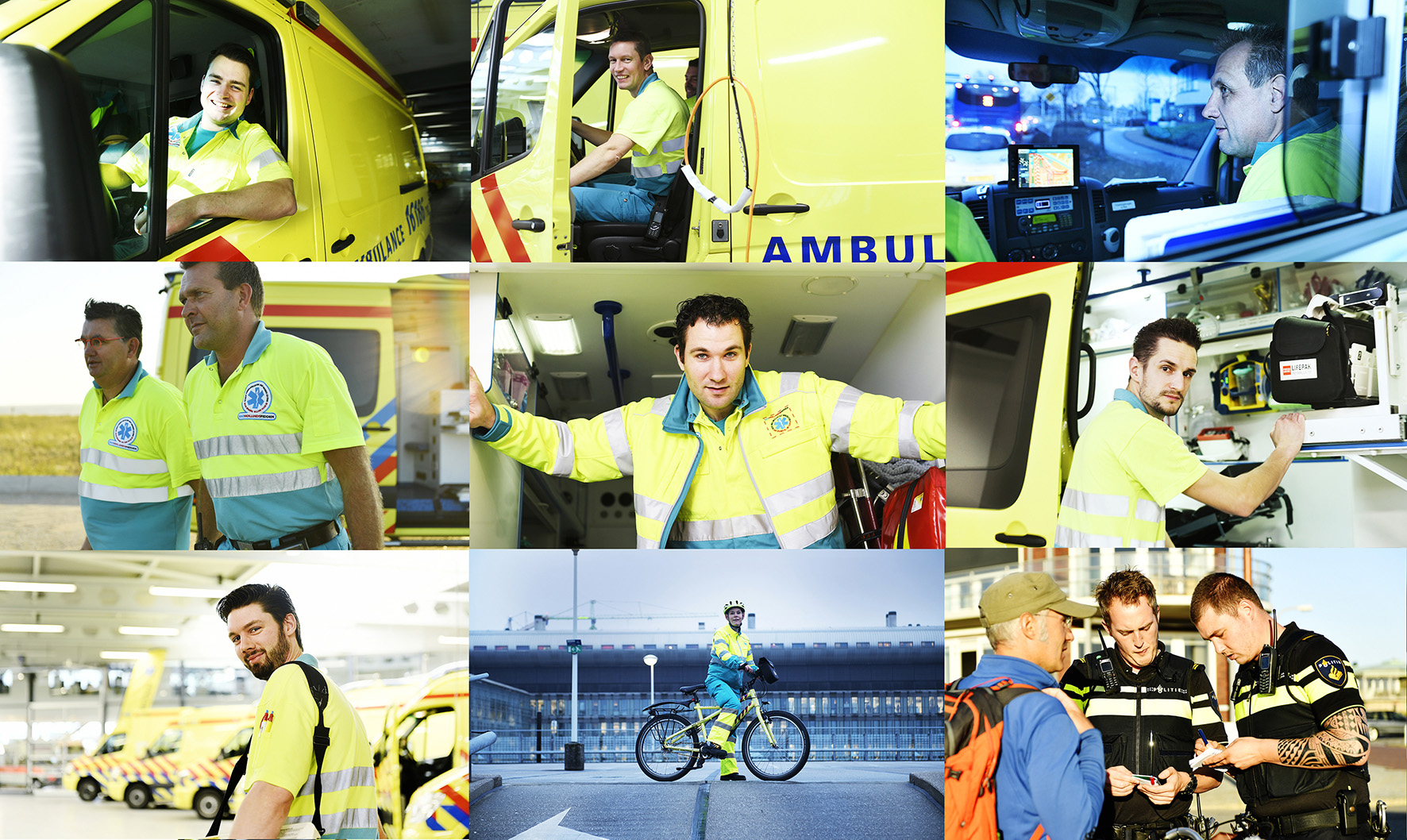 Ambulancedienst RAV HM, corporate images>2018
