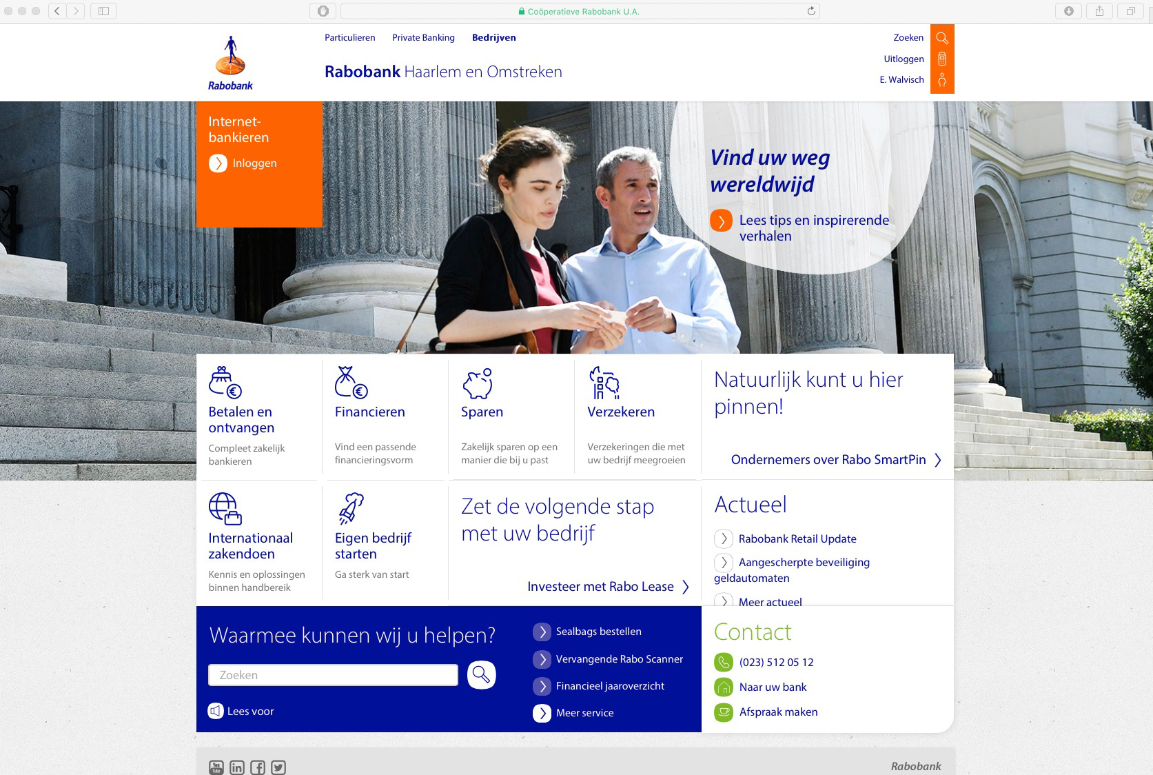 Rabobank International, online campaign, Madrid 2017